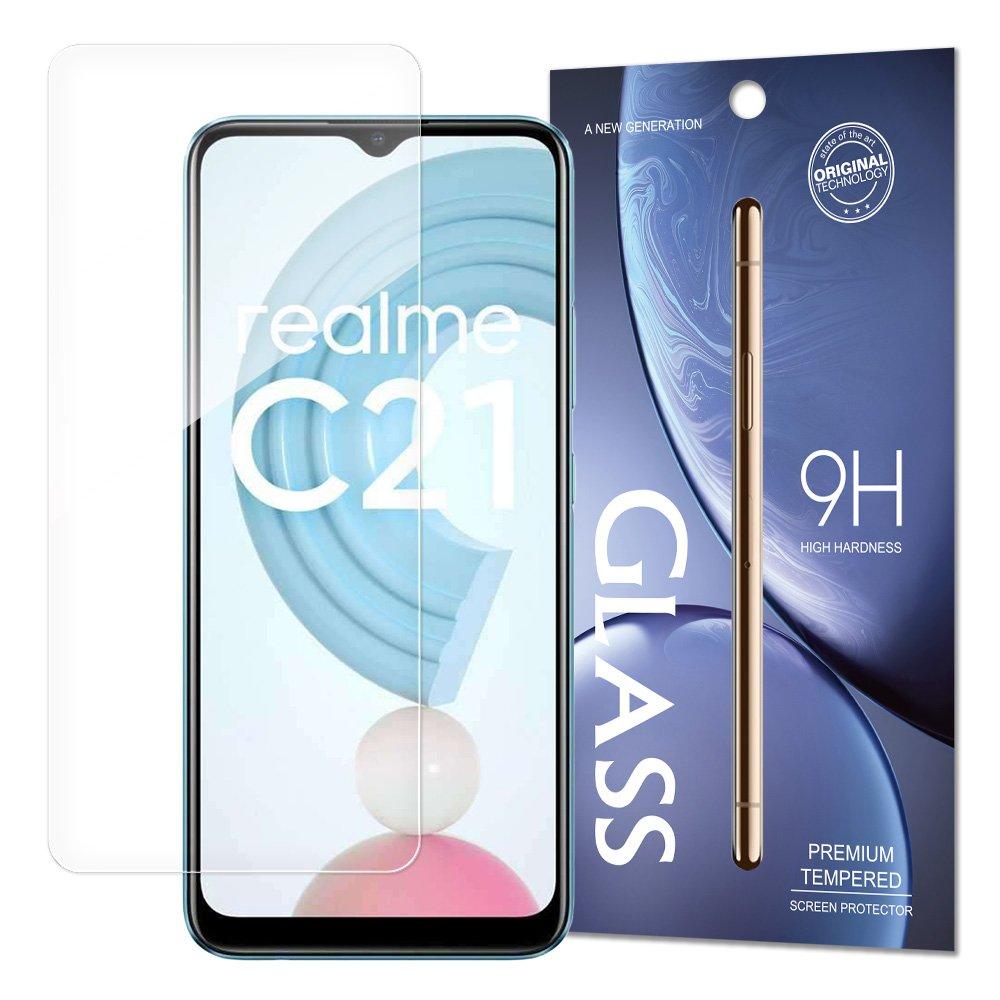 Temperované tvrzené sklo 9H pro Realme C21 9111201936751