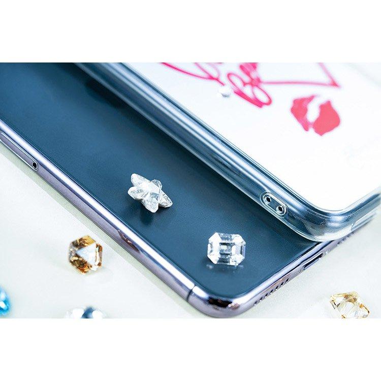 Kingxbar silikonové pouzdro s original Swarovski crystals na iPhone 11 Pro Max Angel Series-Heart