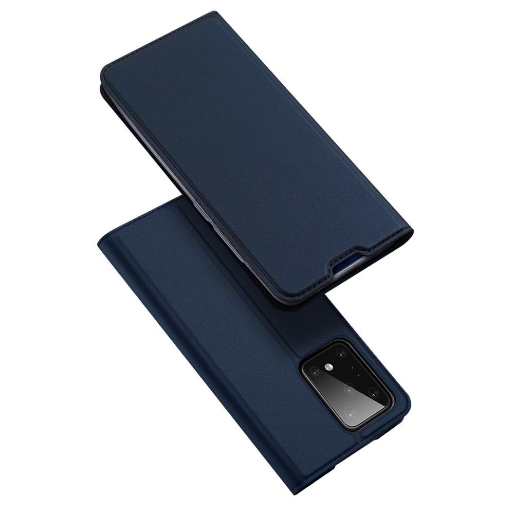 DUX DUCIS Skin knížkové púzdro pre Samsung GalaxyS20 ULTRA blue
