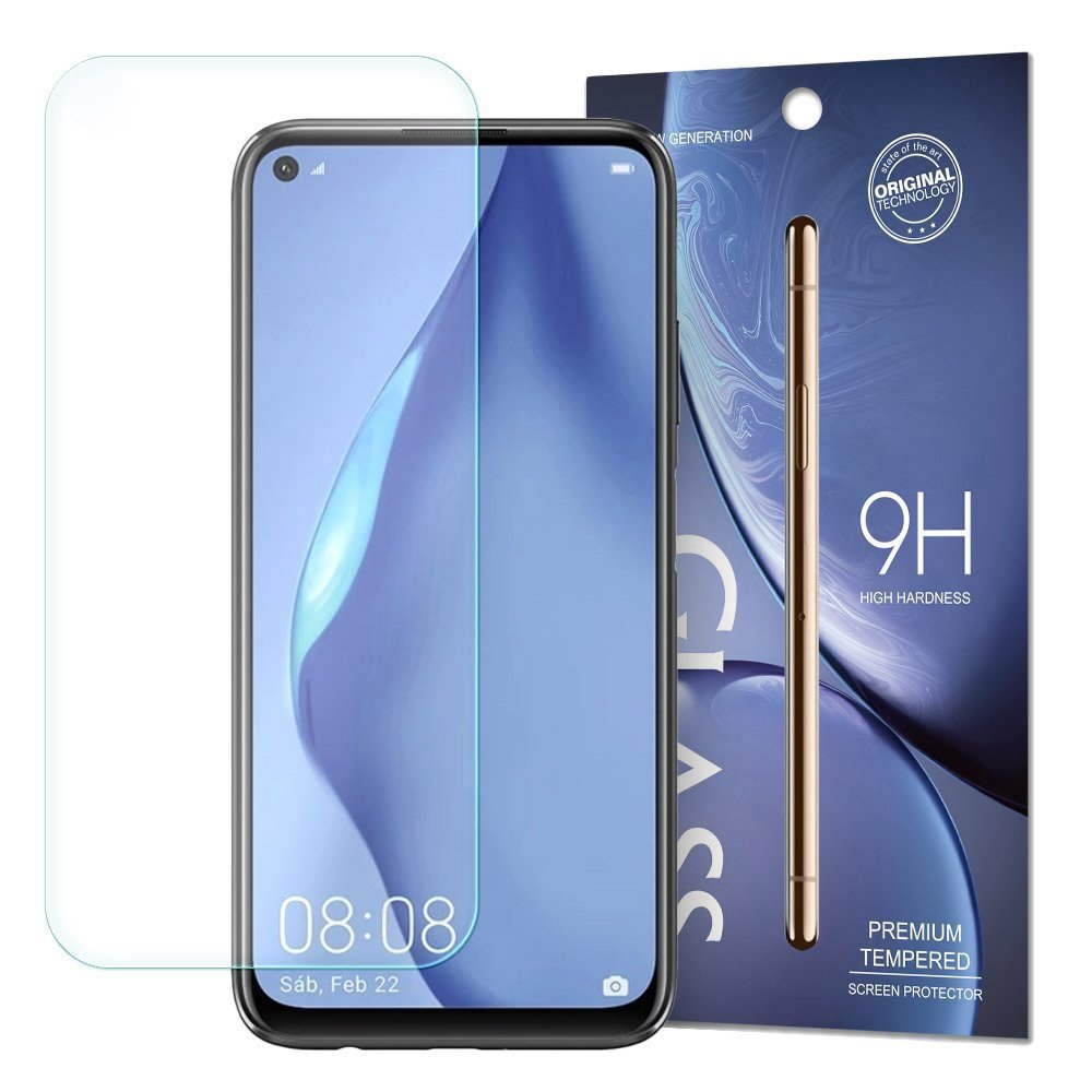 Temperované tvrzené sklo 9H na Huawei P40 Lite / Nova 7i / Nova 6 SE (baleno v obálce)
