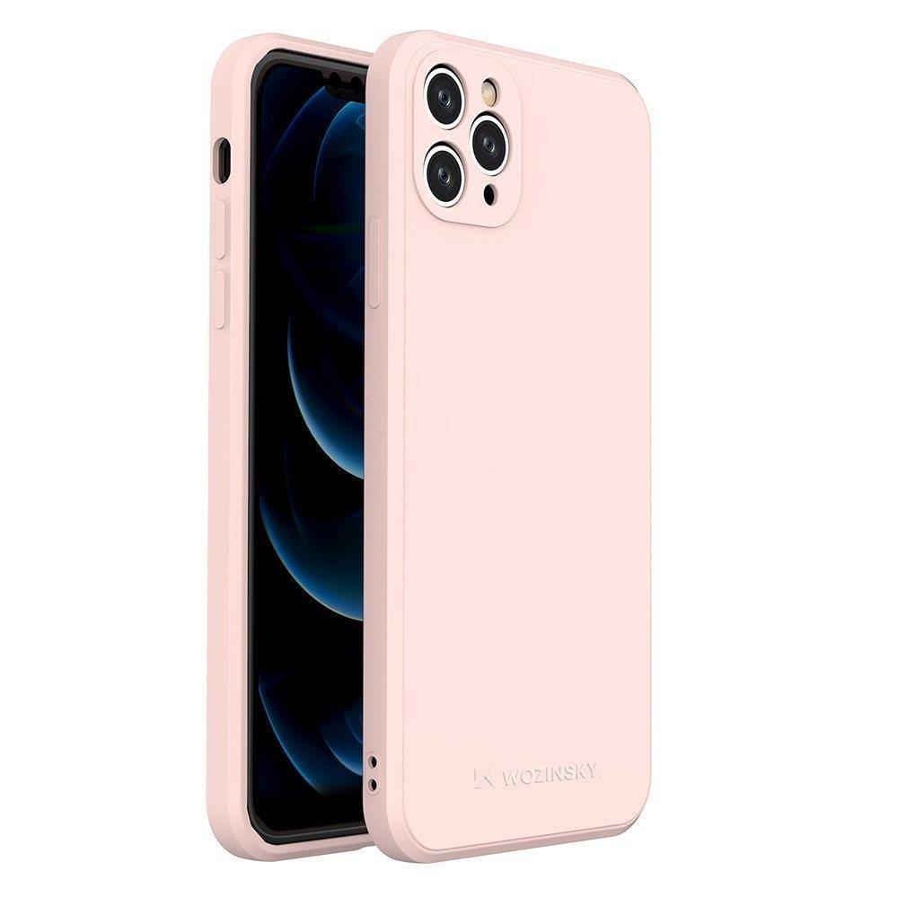 Wozinsky Color Case silikonové pouzdro naiPhone 11 Pro Max pink