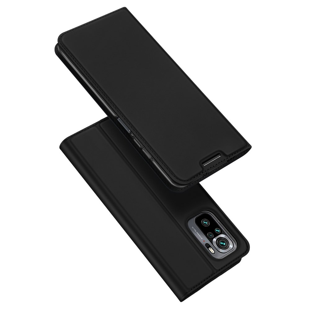 DUX DUCIS Skin knížkové pouzdro na Xiaomi Redmi NOTE 10 / Redmi NOTE 10S black