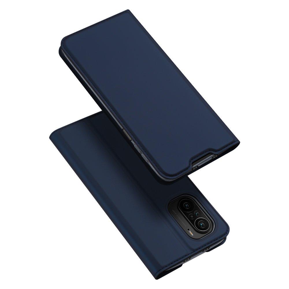 Flipové pouzdro Dux Ducis skin Xiaomi Redmi K40 Pro+ / K40 Pro / K40 / Poco F3 , modrá