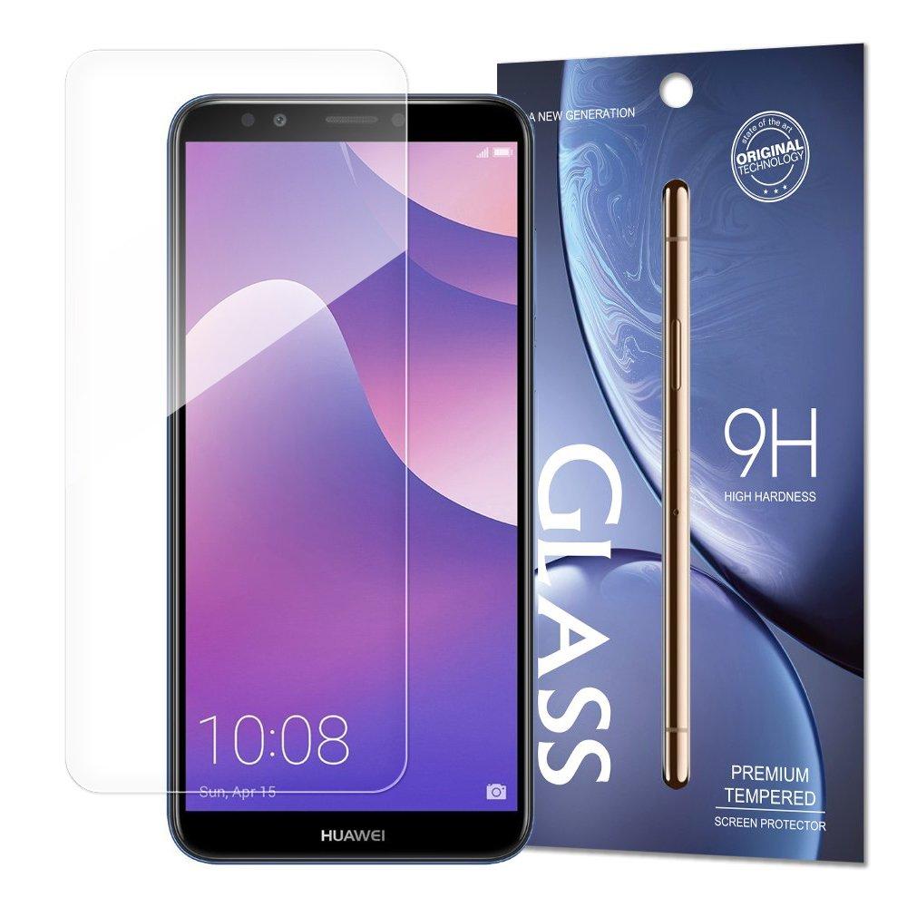 Temperované tvrzené sklo na Huawei Y7 2018 / Huawei Y7 Prime 2018 (baleno v obálce)