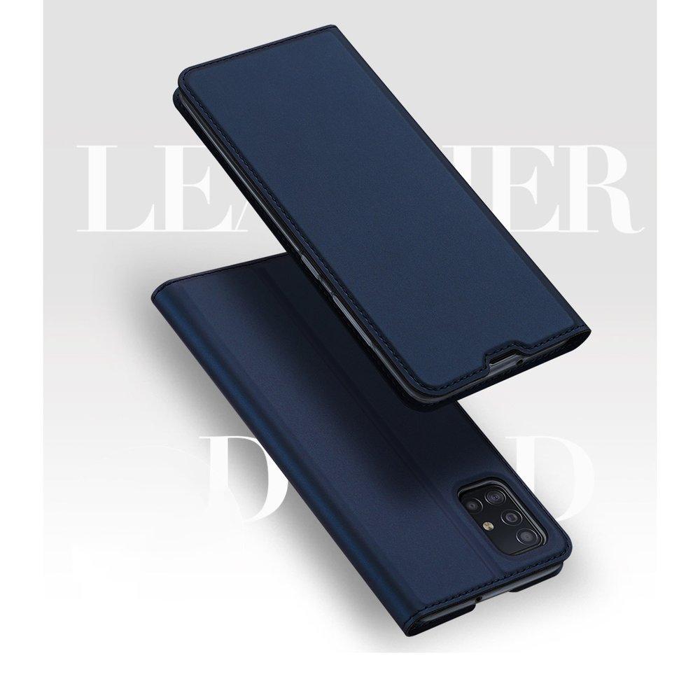 DUX DUCIS Skin knížkové puzdro na Samsung Galaxy A51 pink