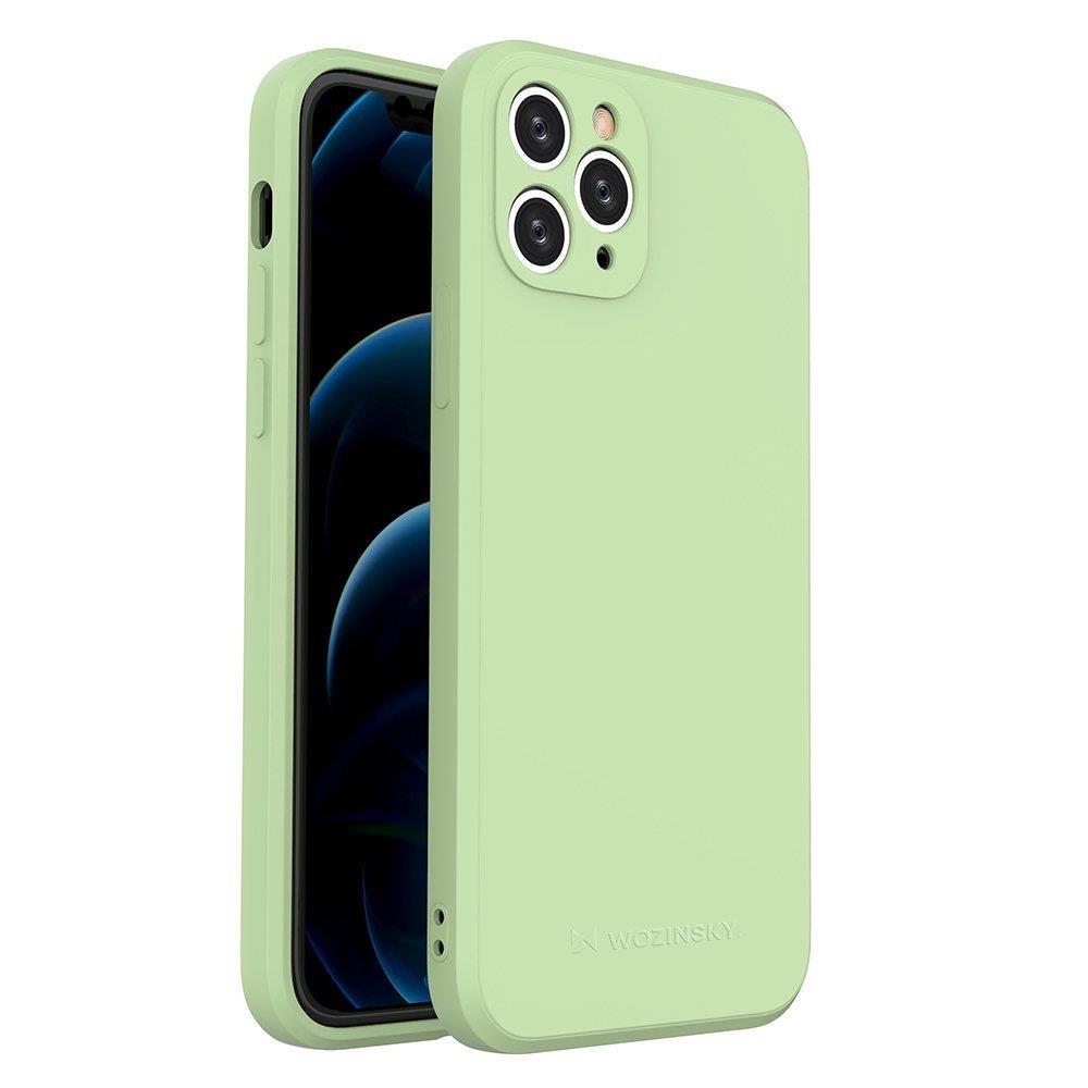 Wozinsky Color Case silikónové puzdro na iPhone 11 Pro green
