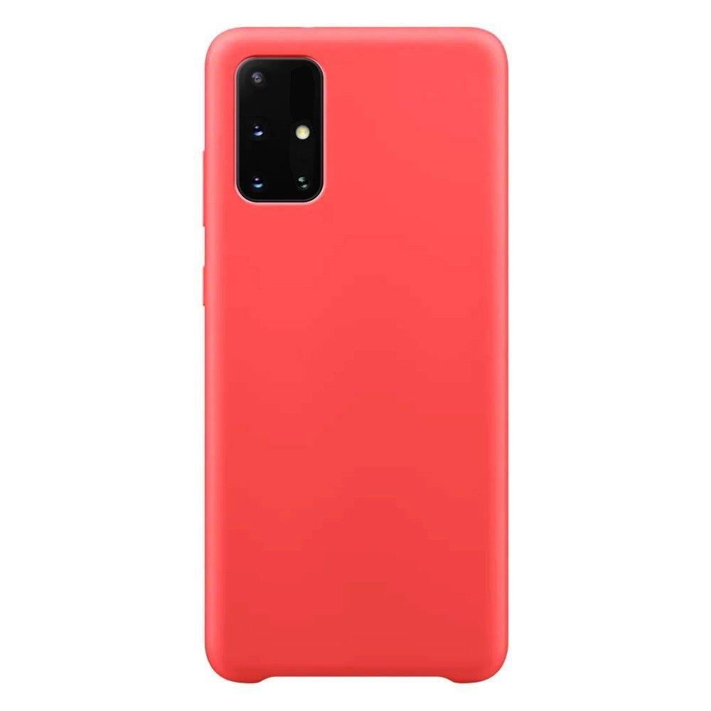 Silikónové púzdro LUX na Samsung Galaxy A12/M12 red