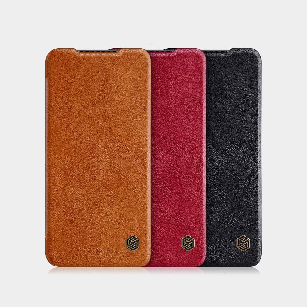 Nillkin Qin knížkové pouzdro na Xiaomi Redmi Note 9 / 10X 4G Black