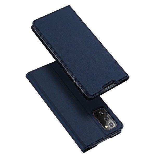 DUX DUCIS Skin X knížkové puzdro pre Samsung Galaxy Note 20 blue
