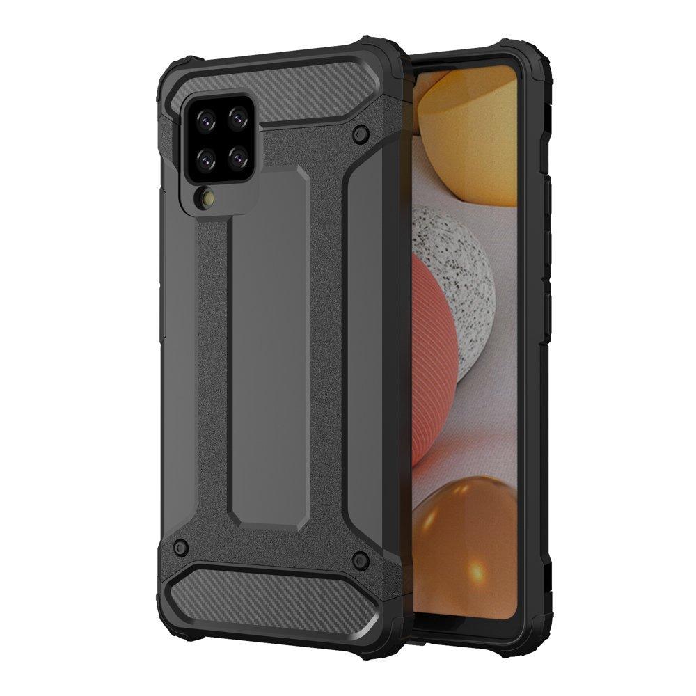 Hybrid Armor Case odolné pouzdro pro Samsung Galaxy A42 5G , černá 9111201914759