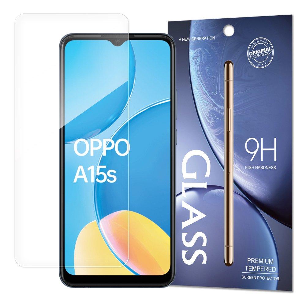 Temperované tvrzené sklo 9H pro Oppo A15s / A15 9111201939417