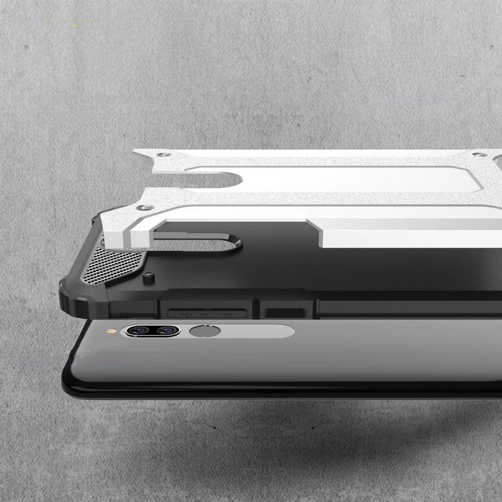 Hybrid pancéřové polykarbonátové pouzdro na Xiaomi Redmi 8 black