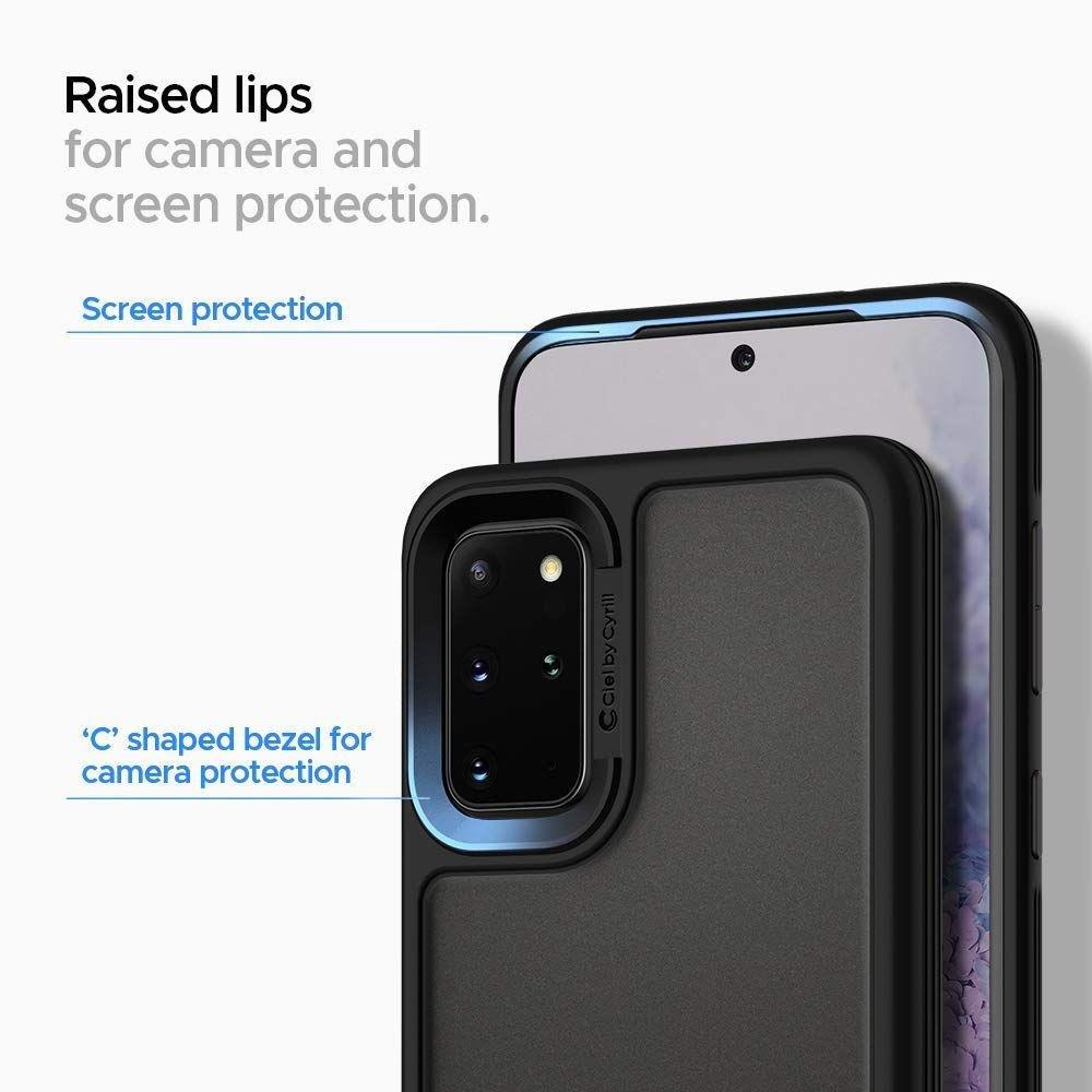 Spigen Ciel Color Brick silikonové pouzdro na Samsung Galaxy S20 Black