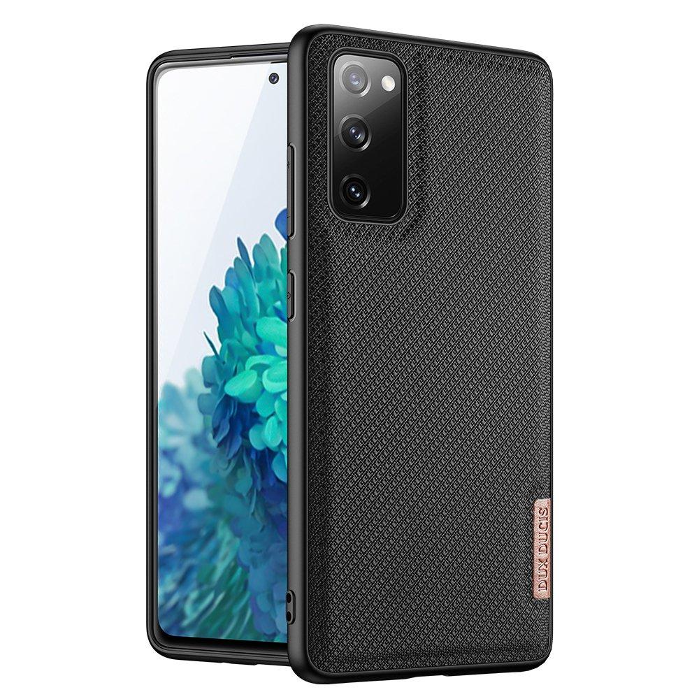 Luxusní pouzdro Dux Ducis Fino Nylon ,  Samsung Galaxy S20 FE 5G , černá 6934913055878