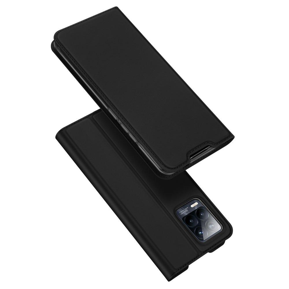Flipové pouzdro Dux Ducis skin Realme 8 Pro / Realme 8 , černá