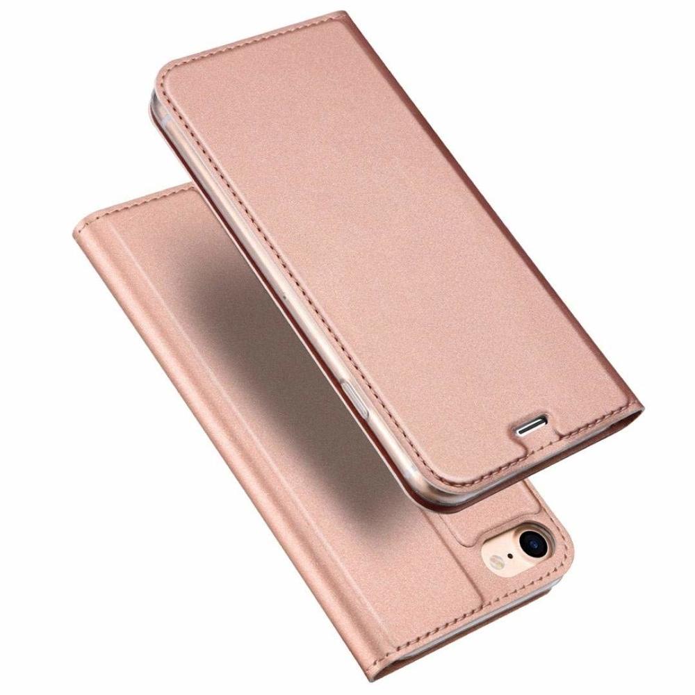 DUX DUCIS Skin knížkové púzdro pre iPhone SE 2020 / 8 / 7 pink