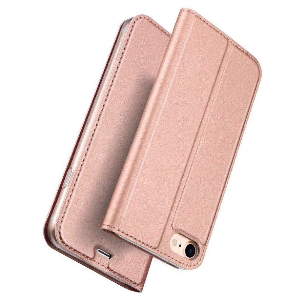 DUX DUCIS Skin knížkové pouzdro iPhone SE 2020 iPhone 8 / iPhone 7 pink