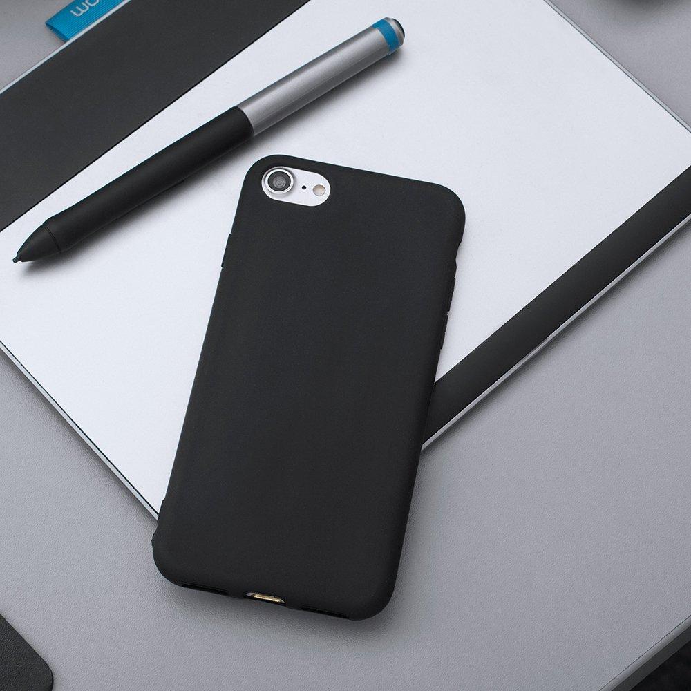 Soft Matt silikonové pouzdro Samsung Galaxy A70 black