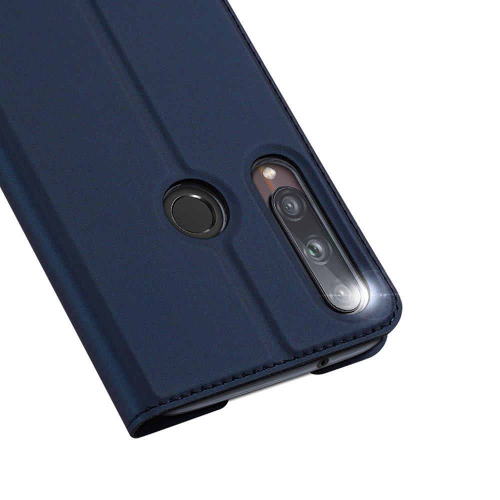 DUX DUCIS Skin knížkové pouzdro na Huawei P40 Lite E blue