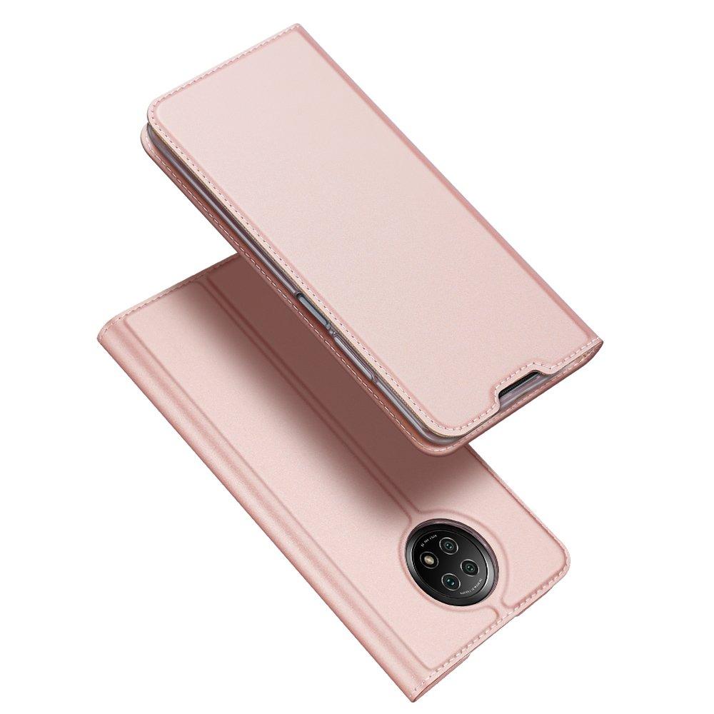 Flipové pouzdro Dux Ducis skin Xiaomi Redmi Note 9T 5G , růžová 6934913054871