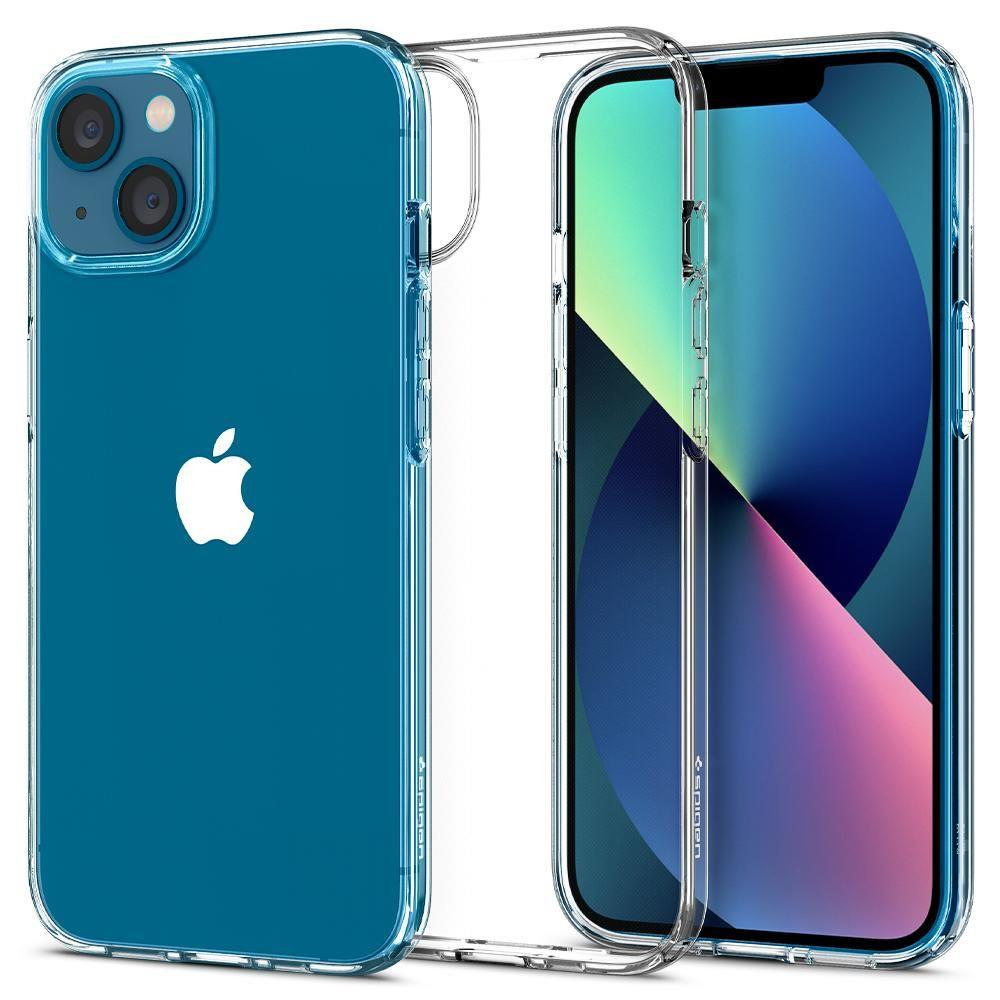 """Spigen Liquid Crystal silikonové púzdro preiPhone 13 Mini 5.4"""" Crystal clear"""