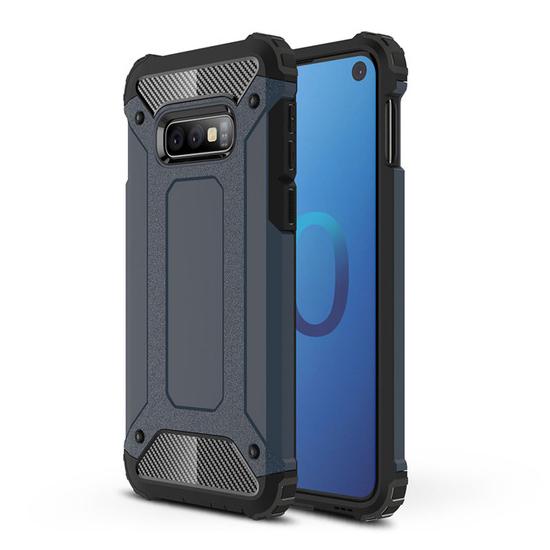 Hybrid polykarbonátové pouzdro pro Samsung Galaxy S10e blue