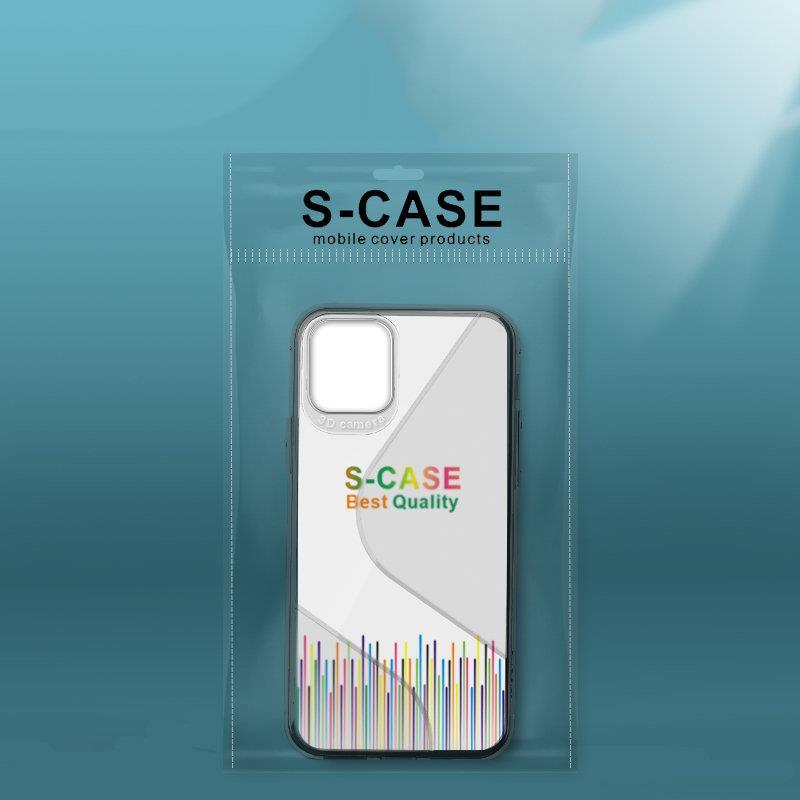 S-Case silikonové pouzdro na Samsung Galaxy A71 black