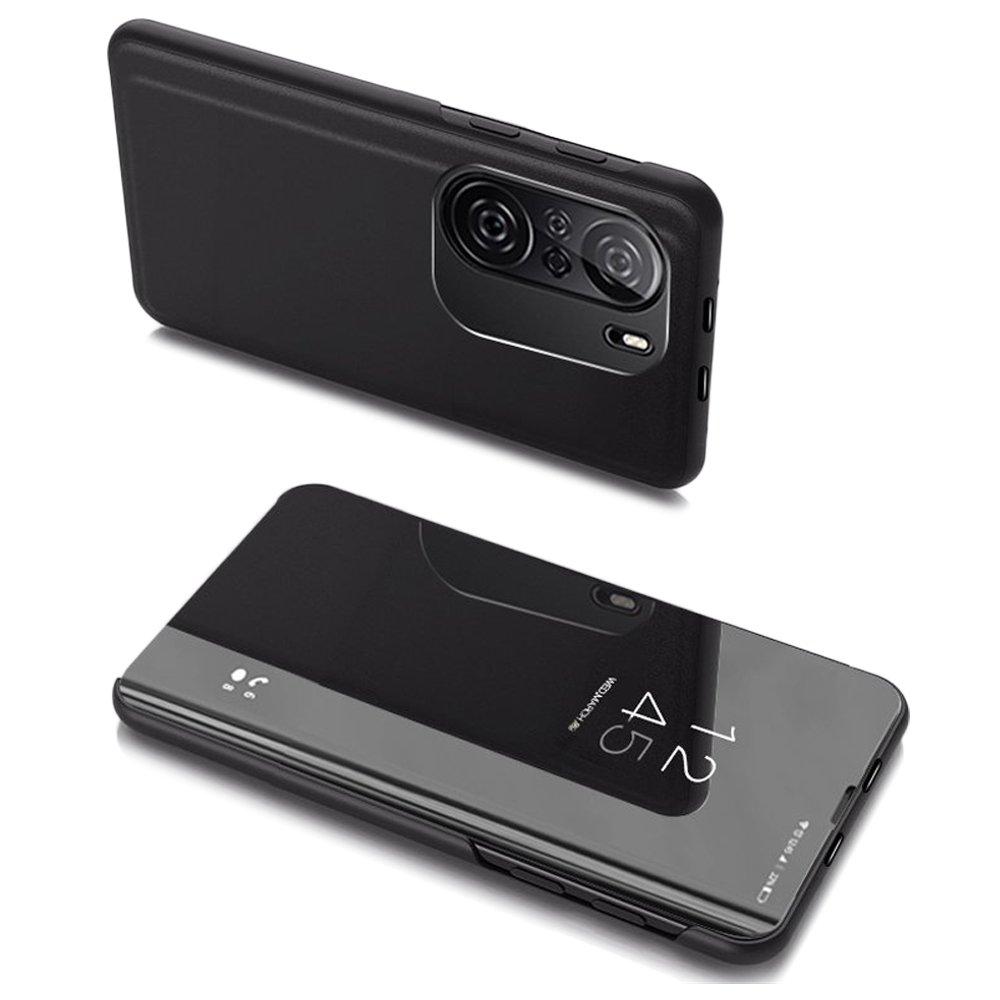 flipové pouzdro Clear View pro Xiaomi Redmi K40 Pro+ / K40 Pro / K40 / Poco F3 , černá 9111201930438