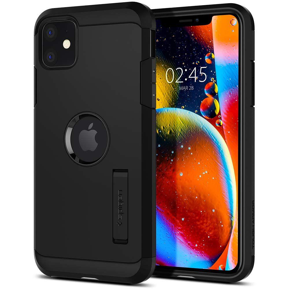 Spigen Tough Armor pancéřové pouzdro na iPhone 11 Black