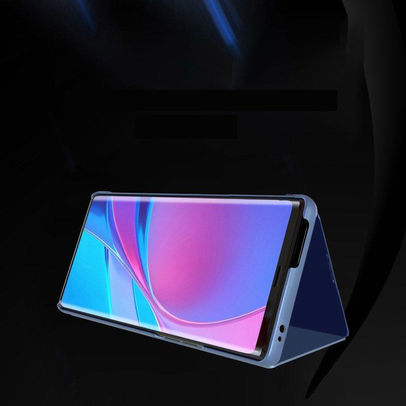 Knížkové pouzdro na Xiaomi Poco F2 Pro silver s průhlednou přední stranou