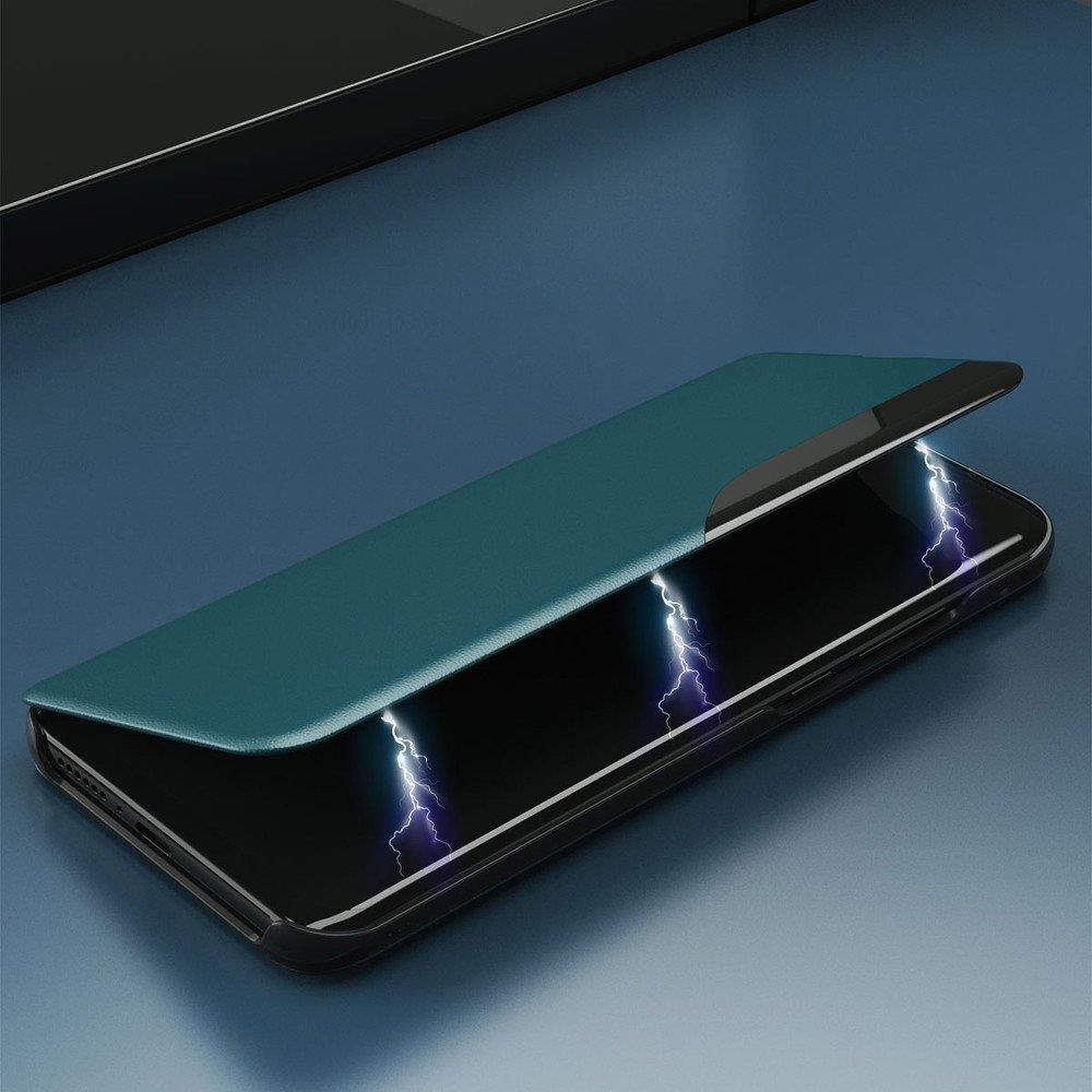 Knížkové pouzdro s imitací kůže na Samsung Galaxy A71 black