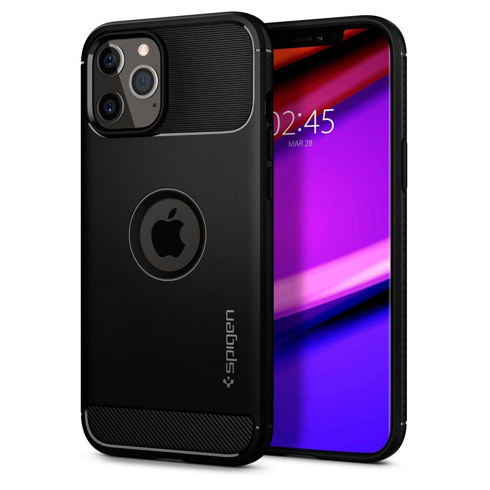 Spigen Rugged Armor Iphone 12 Pro Max Matte Black 8809710755949