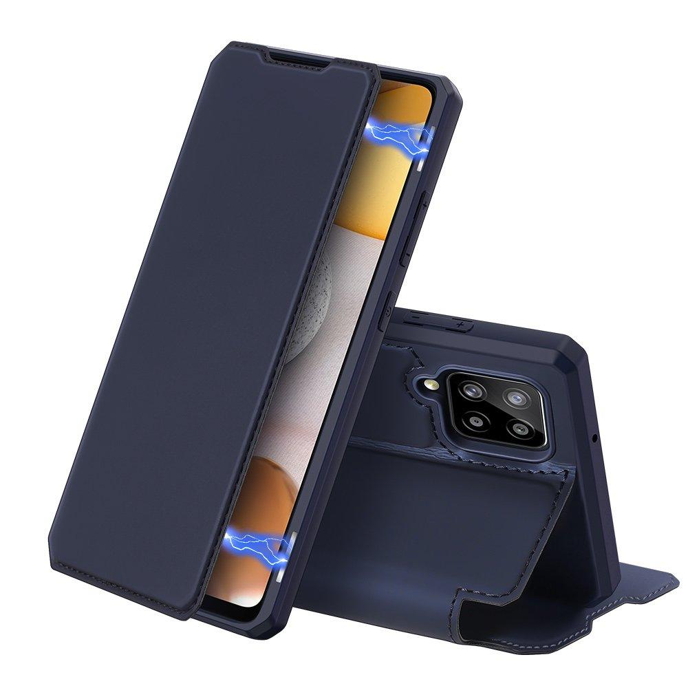 DUX DUCIS Skin X knížkové pouzdro na Samsung Galaxy A42 5G blue