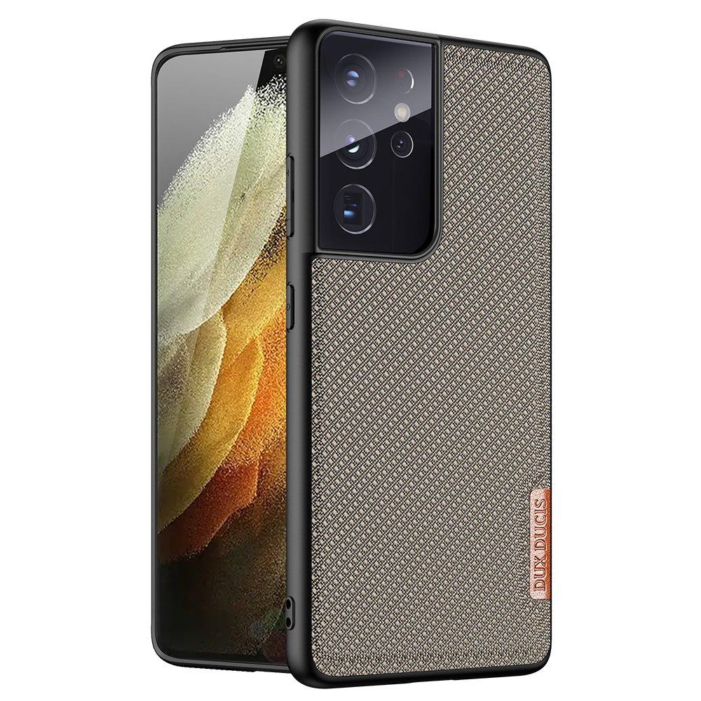 Dux Ducis Fino pouzdro na Samsung Galaxy S21 ULTRA 5G green
