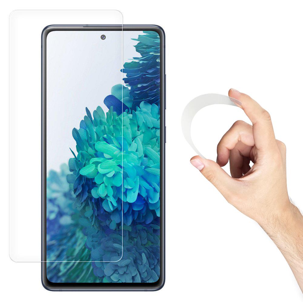 Wozinsky Flexi Nano Hybrid tvrzené sklo 9H na Samsung Galaxy A52 / A52 5G