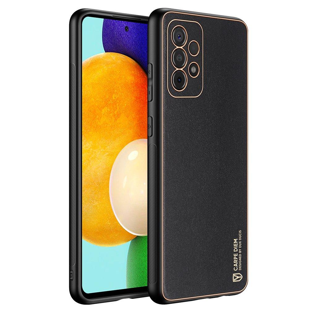 Dux Ducis Yolo púzdro z Eko kože pre Samsung Galaxy A52 / A52 5G black