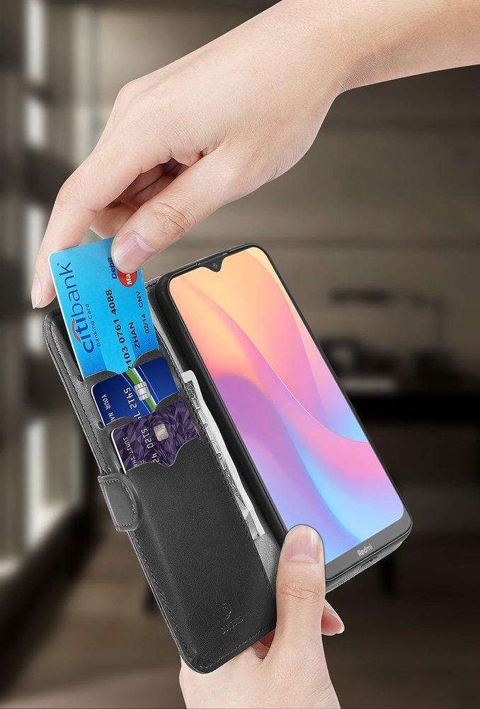 Dux Ducis Kado eko kůže knížkové pouzdro na Xiaomi Redmi 8A pink