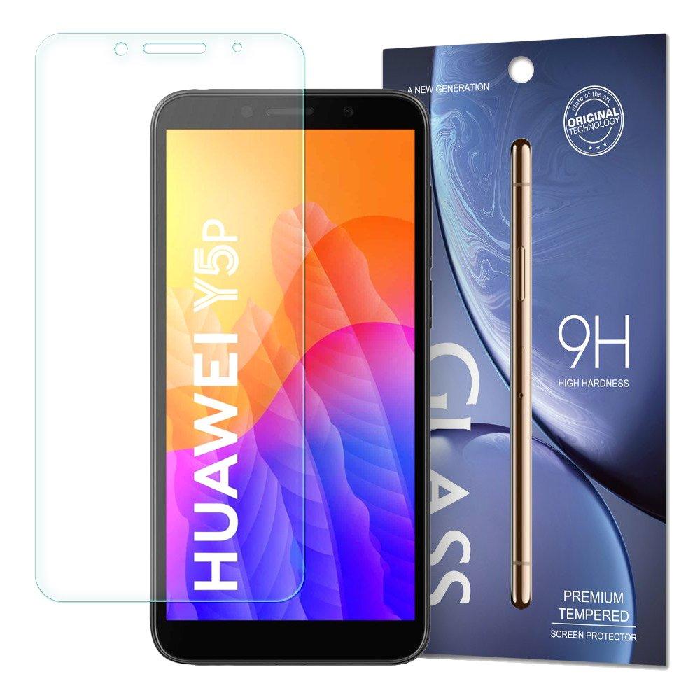 Temperované tvrzené sklo 9H na Huawei Y5p (baleno v obálce)
