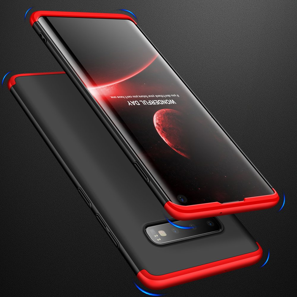 GKK 360 Protection pouzdro pro Samsung Galaxy S10 Plus black-red