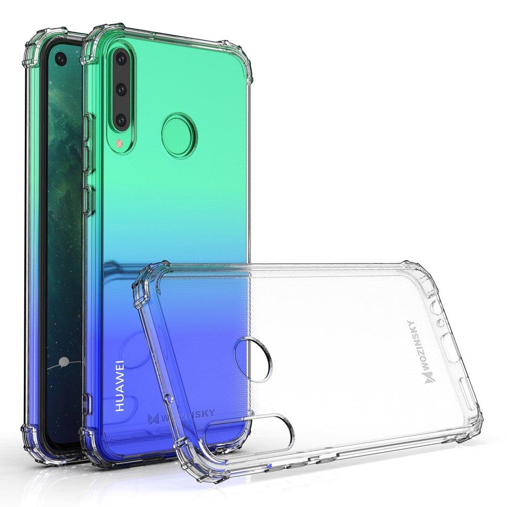 Wozinsky Anti Shock silikonové pouzdro MIL-STD-810G 516.6 na Huawei P40 Lite E transparent