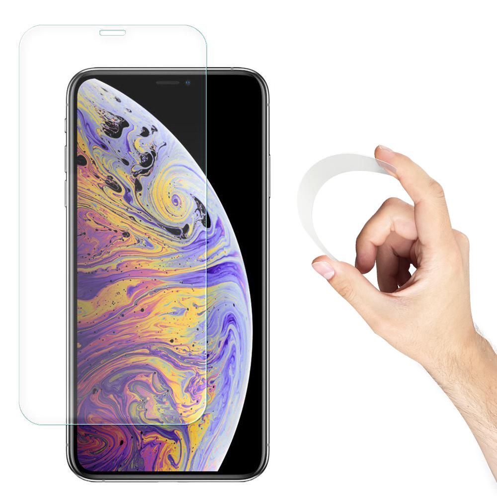 Wozinsky Flexi Nano Hybrid tvrzené sklo 9H na iPhone 12 Pro Max 6,7''