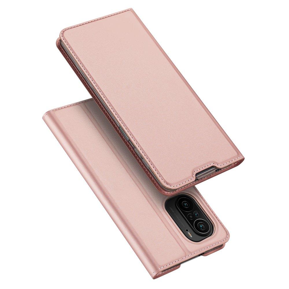 Flipové pouzdro Dux Ducis skin Xiaomi Redmi K40 Pro+ / K40 Pro / K40 / Poco F3 , růžová