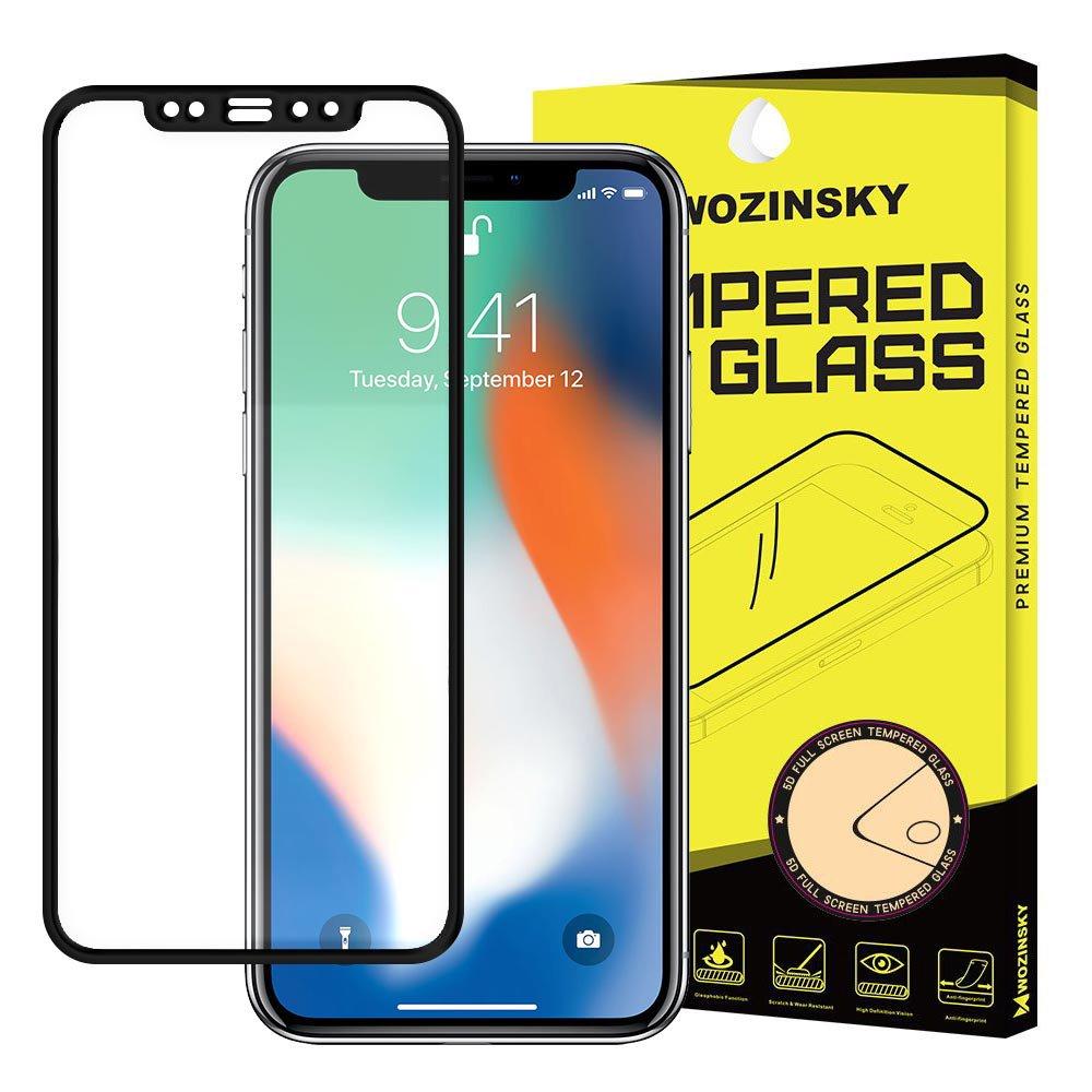 Wozinsky celoplošné temperované tvrzené sklo Samsung Galaxy J6 Plus 2018 J610 / J4 Plus 2018 J415 black