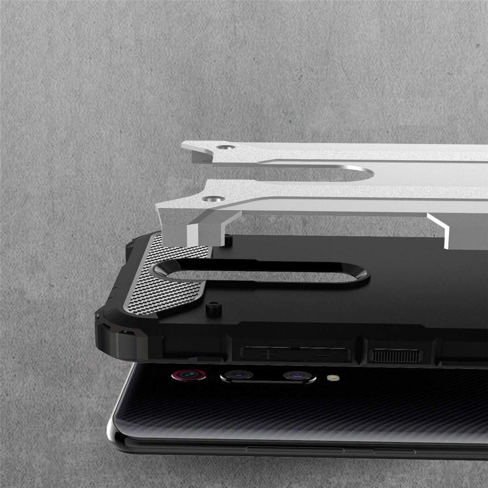 Hybrid pancéřové polykarbonátové pouzdro pro Xiaomi Mi 9T Pro / Mi 9T blue