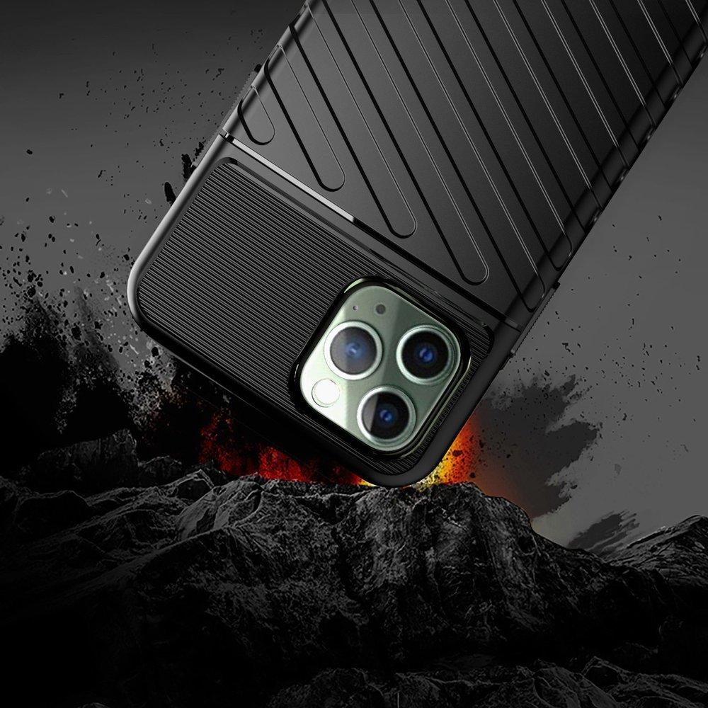 Thunder silikonové pouzdro na iPhone 11 Pro black