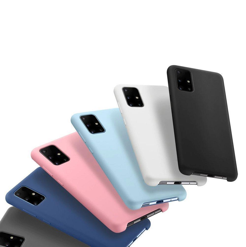 Silikonové pouzdro LUX na Samsung Galaxy A71 red