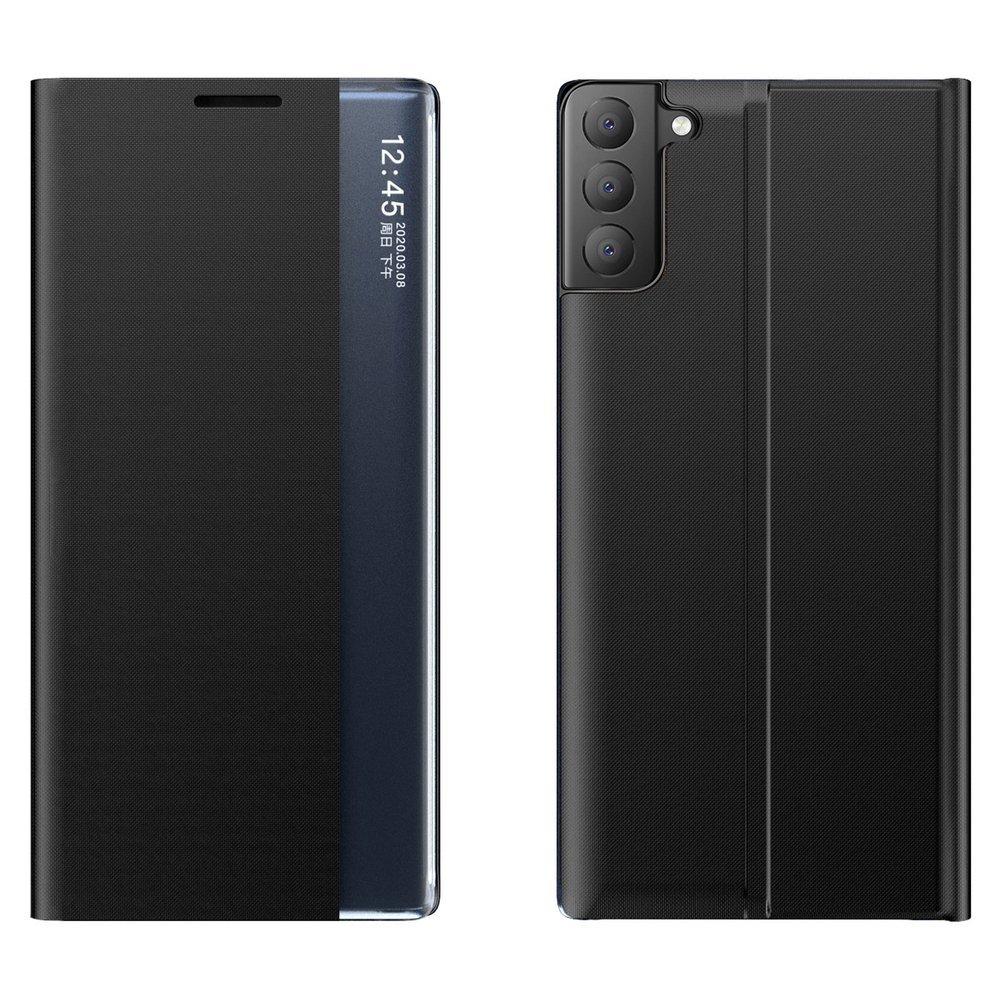 New Sleep knížkové púzdro preSamsung Galaxy S21 FE 5G black