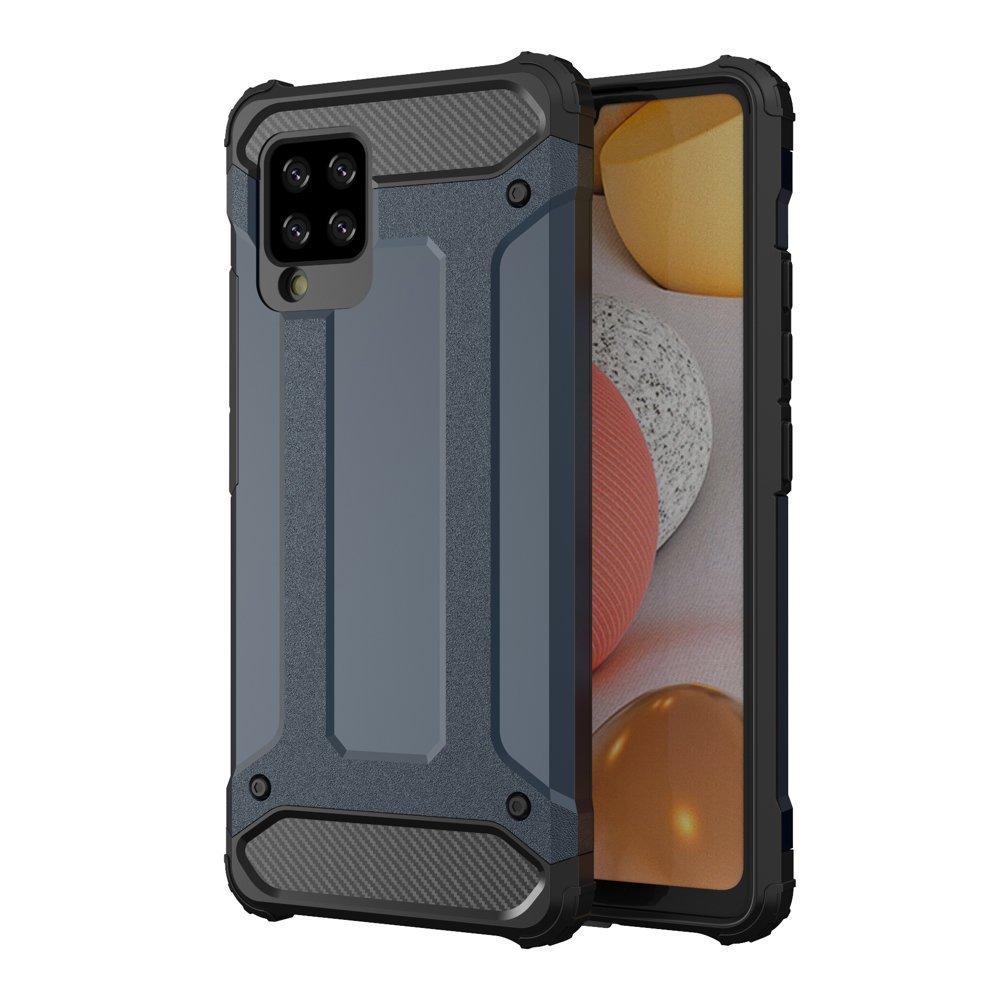 Hybrid Armor Case odolné pouzdro pro Samsung Galaxy A42 5G , modrá 9111201914766