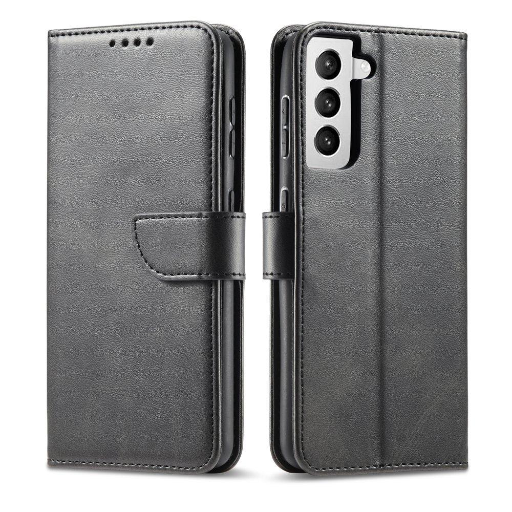 Magnet Case elegantní knížkové pouzdro na Samsung Galaxy S21 5G black