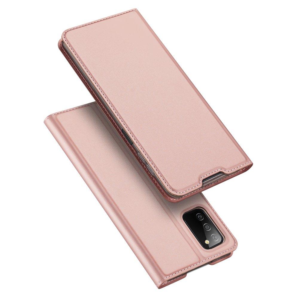 Flipové pouzdro Dux Ducis skin Samsung Galaxy A03s , růžová 6934913049716